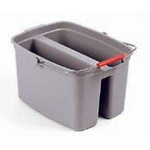 DOUBLE PAIL 17 QT GRAY 6/CS