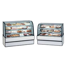 Federal CGR7742 Curved Glass Refrigerated Bakery Case, 77