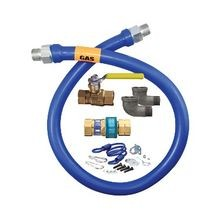 Dormont 1675KIT48 Dormont Blue Hose Moveable Gas Connector Kit, 3/4