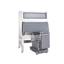 Follett DEV1650SG-60-75 Ice-DevIce with SmartCART 75, chuted, elevated bin, 1660 lb. bin storage, for cube or Chewblet ice only, incl: (1) cart