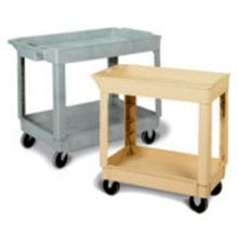 CART UTILITY 34X17.5X33 GRAY 2 SHELF