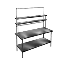 Eagle PRT96-C-X Utility Rack, to be used with Flex-Master overshelf, 96