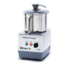 Robot Coupe BLIXER 6 Blixer, Commercial Blender/Mixer, vertical, 7 qt. capacity, stainless steel bowl with handle, stainless steel