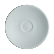 Chena White Coffee Saucer, 6-1/4