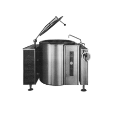Blodgett KLT-40G Tilting Kettle, gas, 40 gallon capacity, manual crank tilt, reinforced rim, self-locking tilt mechanism, temperature 165 to 285 F