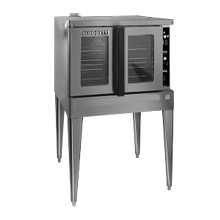 Blodgett ZEPH-200-G-ES BASE Zephaire Convection Oven, gas, (base section only) single-deck, bakery depth, capacity (5) 18