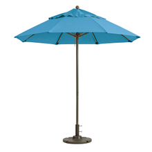 Grosfillex 98819431 Windmaster Umbrella, 9 ft., round top, 1-1/2