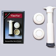 VINO VAC WINE PUMP WITH 2 SEALERS