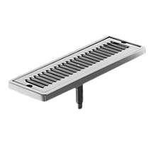 Perlick 5020 5000 Series Drip Tray Trough, surface mount, 13-3/4