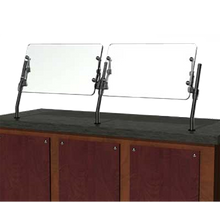 BSI XG3560 XGuard Food Shield, single, full service, front counter mount, fully adjustable, 22