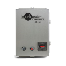 InSinkerator CC101K-6 CC-101 Control Center, CC-101, automatic reverse with start/stop push buttons, for SS-50 to SS-200 disposers, NEMA 4 stainless