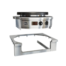 EVO 11-0126-ATK Evo Affinity 25E Cooktop Trim Kit, drop-in, square insert, fully welded smooth & blended corners, 304 stainless steel, for Evo