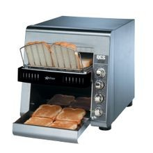 Star QCS2-800 Star QCS Conveyor Toaster, electric, 800 slices/hr., horizontal conveyor, analog speed, standby switch, independent controls for top