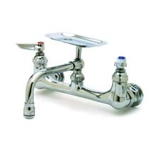 T&S Brass B-0233-01 Sink Mixing Faucet, wall mounted, 160 x 6