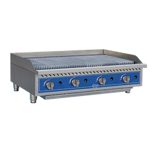 Globe GCB48G-CR Charbroiler, countertop, natural gas, 48