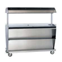 Alto-Shaam ITM2-72/STD Island Hot Food Takeout Merchandiser, 60-1/2