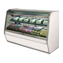 Howard R-CDS32E-4C-LS Curved Glass Deli Meat & Cheese Service Case, 50