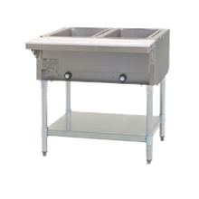 Eagle HT2-NG-1X Hot Food Table, natural gas, open base, 33