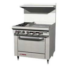 Southbend S36A-2GR S-Series Restaurant Range, gas, 36