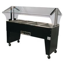 Advance Tabco B4-120-B Portable Hot Food Buffet Table, electric, 62-7/16