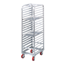 Channel AXD1825 Lifetime Tough Bun Pan Rack, Heavy Duty, Half Height, mobile, 22