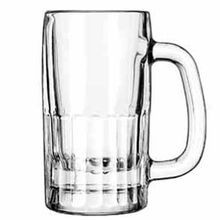 MUG BEER 10 OZ HANDLED 5-3/4