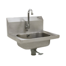Eagle HSA-10-FOE-1X Hand Sink, wall mount, 14