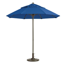 Grosfillex 98829731 Windmaster Umbrella, 9 ft., round top, 1-1/2