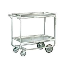 Lakeside 743 Utility Cart, (2) shelf, shelf size 33