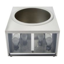 Star 11WLA Lighted Food Warmer, countertop, electric, 11 quart capacity, base unit only, for use with 11 qt. round bain marie, includes: nacho