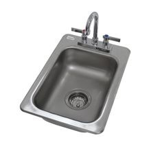 Advance Tabco DI-1-5 Drop-In Sink, 1-compartment, 10