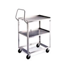 Lakeside 6600 Ergo-One Light Duty Utility Cart, 2-tier, open base, 300 lbs capacity, 15-1/2