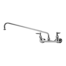 T&S Brass B-0230-LNM Sink Mixing Faucet, wall mounted, 8