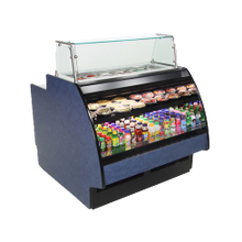 Structural GP841RR Fusion Preparation/Self-Serve Air-Screen Refrigerated Case, 99-3/4