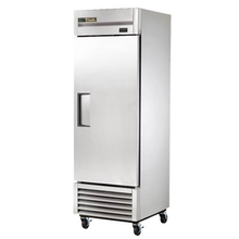 TRUE T-23-HC Refrigerator, Reach-In, One-Section, Stainless Steel Door, Stainless Steel Front, Aluminum Sides, Clear Coated Aluminum Interior