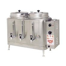 Grindmaster CH100N Chinese Hot Tea Urn, double, electric, (2) 3 gallon capacity liners, fresh water brewing system, solid state dual water level