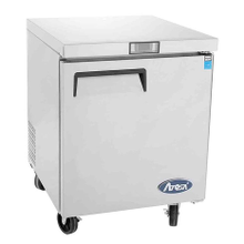 Atosa MGF8401 Atosa Undercounter Reach-In Refrigerator, one-section, self-contained refrigeration, 6.5 cu. ft. capacity