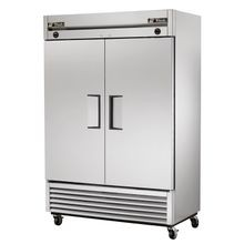 TRUE T-49DT Refrigerator/Freezer, Reach-in, two-section, stainless steel doors, stainless steel front, aluminum sides, aluminum interior with