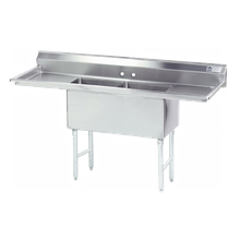 Advance Tabco FC-2-1824-18RL-X Fabricated NSF Sink, 2-compartment, 18
