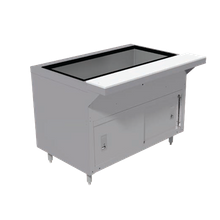 Advance Tabco HDCPU-5-DR Heavy Duty Ice Cooled Serving Counter, 77-3/4