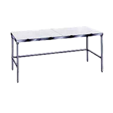 Advance Tabco TSPT-306 Poly-Top Work Table, 72