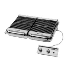 Wells B-506 Charbroiler, built-in, electric, cast iron grate, 36