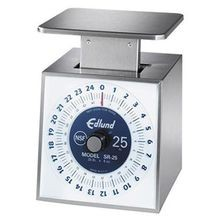 Portion Scale for counter-top, dial typle, 5lb x 1 oz graduation, stainless steel construction and Made in the USA, Edlund SR-5