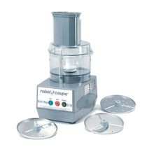 Robot Coupe R101 PLUS Combination Food Processor, 2.5 quart, clear polycarbonate bowl, stainless steel