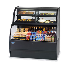 Federal SSRC-5952 Specialty Display Convertible Merchandiser with Refrigerated Self-Serve Bottom & Convertible Top, 59
