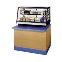 Federal CRR3628SS Counter Top Refrigerated Self-Serve Rear Mount Merchandiser, 36
