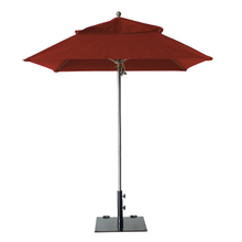 Grosfillex 98668231 Windmaster Umbrella, 6-1/2 ft., square top, 1-1/2