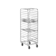 Channel 400A Bun Pan Rack, mobile, 20-1/2