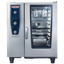 Rational B119206.27E202 (CMP 101NG 120V) CombiMaster Plus, Combi Oven/Steamer, natural gas, (10) 12