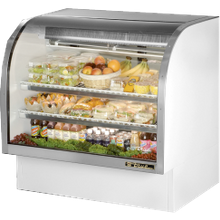TRUE TCGG-48-LD Curved Glass Deli Case, 48-1/4